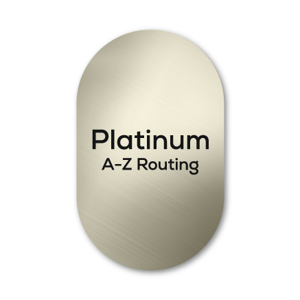 platinum-a-z-routing